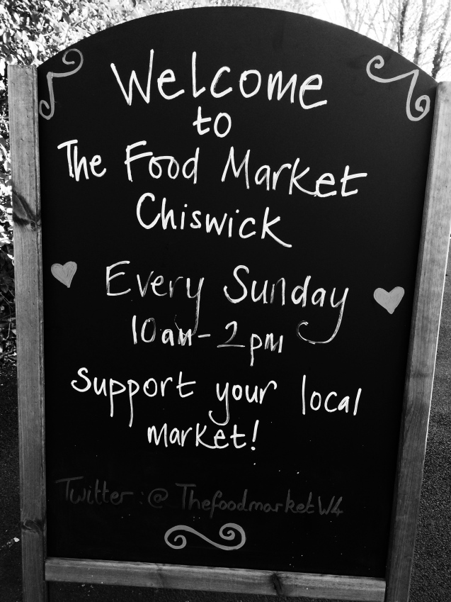 CHISWICK FARMERS MARKET LONDRES 1 JOUR A